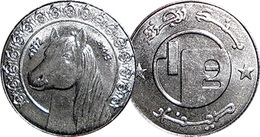Algeria Half Dinar (Barbary Horse) 1992 - Algérie