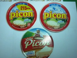 ALGERIE-ETIQUETTES PICON - Cheese