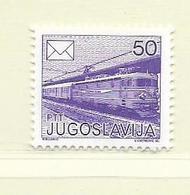 YOUGOSLAVIE  ( EU - 646 )   1986   N° YVERT ET TELLIER  N° 2054(A)    N** - 1945-1992 Socialist Federal Republic Of Yugoslavia