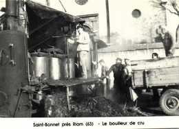 Saint Bonnet Près Riom Le Bouilleur De Cru Cercle Cartophile Riomois 4 E Salon 10 Octobre 1993 RV  500 Ex - Bourses & Salons De Collections