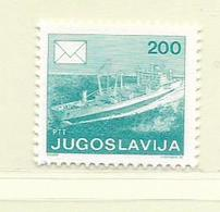 YOUGOSLAVIE  ( EU - 648 )   1986   N° YVERT ET TELLIER  N° 2055(A)    N** - 1945-1992 Socialist Federal Republic Of Yugoslavia