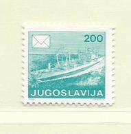 YOUGOSLAVIE  ( EU - 649 )   1986   N° YVERT ET TELLIER  N° 2056(B)    N** - 1945-1992 Socialist Federal Republic Of Yugoslavia