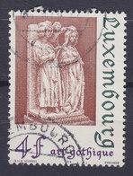 Luxembourg 1974 Mi. 887    4 Fr. Architektur Gotik St. Cëcilie & St. Valerian Von Engel Gekrönt Crowned By Angel - Luxembourg