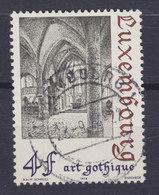 Luxembourg 1974 Mi. 888    4 Fr. Architektur Gotik Gotischen Kirche Von Simmern - Luxembourg