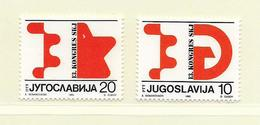 YOUGOSLAVIE  ( EU - 654 )   1986   N° YVERT ET TELLIER  N° 2064/2065    N** - 1945-1992 Socialist Federal Republic Of Yugoslavia