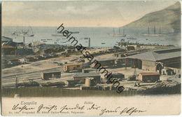 Tocopilla - Bahia - Eisenbahn - Verlag Carlos Brandt Valparaiso - Chile