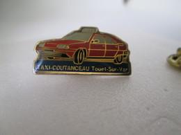 PIN'S    CITROEN  BX  TAXI  COUTANCEAU - Citroën