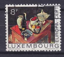 Luxembourg 1975 Mi. 905    8 Fr. Europa CEPT Gemälde Stilleben Von Joseph Kutter - Luxembourg