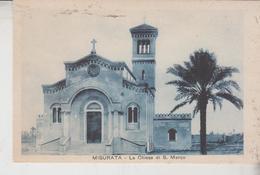 Libia Libya Tripolitania Misurata La Chiesa Di S. Marco  No  Vg  F/t - Libia