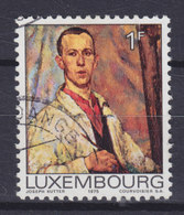 Luxembourg 1975 Mi. 906    1 Fr. Selbstporträt Gemälde Von Joseph Kutter - Luxembourg