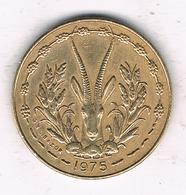 5  FRANCS 1975 AFRICA- L'OUEST /7831/ - Monnaies