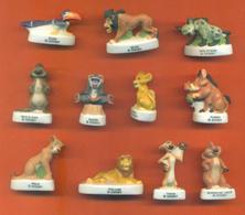 Serie Complète De 11 Feves Mat Le Roi Lion - Disney