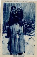 NWT, Canada, Missions Des Peres Oblats En Amerique Du Nord, Indian Mother With Axe & Papoose , 1916? Postcard - Other