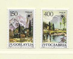 YOUGOSLAVIE  ( EU - 667 )   1987   N° YVERT ET TELLIER  N° 2090/2091    N** - 1945-1992 Socialist Federal Republic Of Yugoslavia