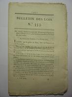 BULLETIN DES LOIS 28 MARS 1820 - GENDARMERIE D'ELITE - FINISTERE - POUDRES - GENDARMERIE DES CHASSES ET VOYAGES DU ROI - Décrets & Lois