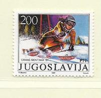 YOUGOSLAVIE  ( EU - 669 )   1987   N° YVERT ET TELLIER  N° 2094    N** - 1945-1992 Socialist Federal Republic Of Yugoslavia