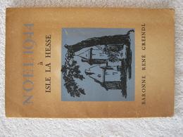 Guerre 40-45 – Bastogne Isle-la-Hesse – Baronne Greindl - EO 1947 – Rare - War 1939-45