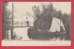 Berlare- Donkmeer ... Pont De Séparation Des Deux Lacs ... Geanimeerd - 1903 ( Verso Zien ) - Berlare