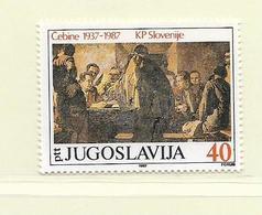 YOUGOSLAVIE  ( EU - 672 )   1987   N° YVERT ET TELLIER  N° 2097    N** - 1945-1992 Socialist Federal Republic Of Yugoslavia