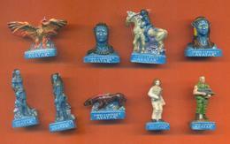 Serie Complète De 9 Feves Avatar - Disney