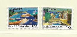 YOUGOSLAVIE  ( EU - 673 )   1987   N° YVERT ET TELLIER  N° 2098/2099    N** - 1945-1992 Socialist Federal Republic Of Yugoslavia