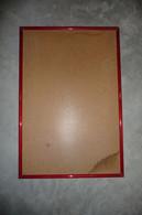 CADRE TABLEAU Bois Peint Avec Fond , Dim Int: 39X 58cm - Autres Collections