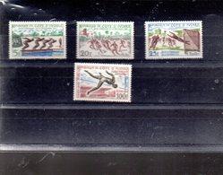 COTE D IVOIRE 201/203 +A 21** SUR LES JEUX D ABIDJAN - Ivory Coast (1960-...)