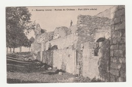 Nozeroy.39.Jura.Ruines Du Château.Fort (XVeme Siècle).1912 - Altri Comuni