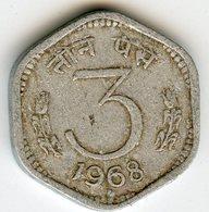 Inde India 3 Paise 1968 (b) KM 14.2 - India