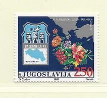 YOUGOSLAVIE  ( EU - 686 )   1987   N° YVERT ET TELLIER  N° 2119    N** - 1945-1992 Socialist Federal Republic Of Yugoslavia