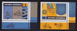 Macedonia 2002 Europa CEPT - Circus, MNH (**) Michel 254-255 - Macedonia