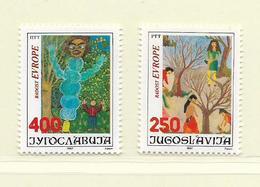 YOUGOSLAVIE  ( EU - 688 )   1987   N° YVERT ET TELLIER  N° 2121/2122    N** - 1945-1992 Socialist Federal Republic Of Yugoslavia