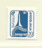 YOUGOSLAVIE  ( EU - 689 )   1987   N° YVERT ET TELLIER  N° 2123    N** - 1945-1992 Socialist Federal Republic Of Yugoslavia