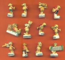 Serie Complète De 12 Feves Les Coccinelles De Gotlib - Animals