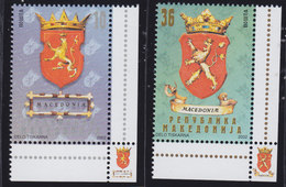 Macedonia 2002 National Coat Of Arms, MNH (**) Michel 258-259 - Mazedonien