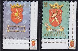 Macedonia 2002 National Coat Of Arms, MNH (**) Michel 258-259 - Macedonia