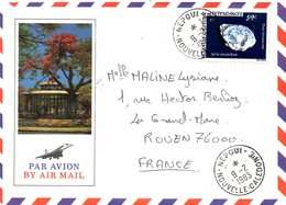 NOUVELLE-CALEDONIE. PA 228 De 1983 Sur Enveloppe Ayant Circulé. Gel De Silice. - Nieuw-Caledonië