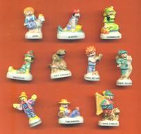 Serie Complète De 10 Feves Les Personnages De Notre Enfance - Characters