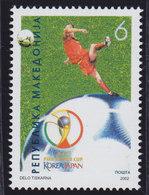 Macedonia 2002 FIFA Football World Cup In South Korea And Japan, MNH (**) Michel 256 - Macedonia