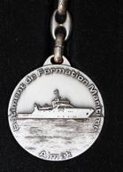 """Très Beau Porte-clés """"Almak - Bâtiment De Formation Maririme / NavOcéan"""" Marine Nationale - Concarneau - Chantier Piriou - Bateaux"""