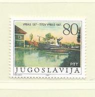 YOUGOSLAVIE  ( EU - 691 )   1987   N° YVERT ET TELLIER  N° 2126    N** - 1945-1992 Socialist Federal Republic Of Yugoslavia