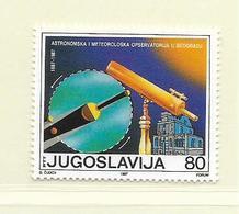 YOUGOSLAVIE  ( EU - 692 )   1987   N° YVERT ET TELLIER  N° 2127    N** - 1945-1992 Socialist Federal Republic Of Yugoslavia