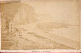 Photographie Ancienne 16,5 X 10,5 , Petites Dalles, Seine Inférieure, Vers 1880 - Photos