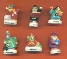 Serie Complète De 6 Feves Les Sorcières - Characters