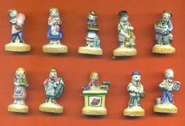 Serie Complète De 10 Feves Les Petits Metiers - Characters