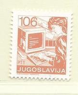 YOUGOSLAVIE  ( EU - 698 )   1987   N° YVERT ET TELLIER  N° 2139    N** - 1945-1992 Socialist Federal Republic Of Yugoslavia
