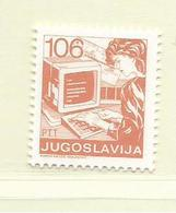 YOUGOSLAVIE  ( EU - 699 )   1988   N° YVERT ET TELLIER  N° 2139    N** - 1945-1992 Socialist Federal Republic Of Yugoslavia