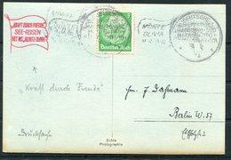 DR Deutsche Seepost Hamburg Sudamerika MONTE OLIVIA SEE-REISEN H.S.D.G. Ship Schiffspost.Neuruppin Postcard. - Deutschland