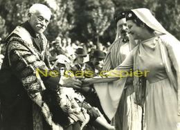 VANNES Cérémonie Druidique 1939 Grande Photo MORBIHAN 56 BRETAGNE - Lieux