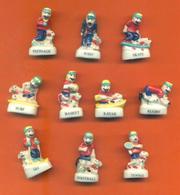Serie Complète De 10 Feves  Tom Et Pilou Les Sports - Sport